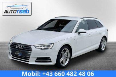 Audi A4 Avant 2,0 TDI Sport S-tronic S-ine*NAVI*MATRIX* bei Auto Raab, Johannes Raab, KFZ – und Reifenhandel in