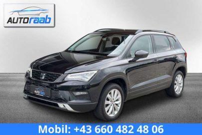 SEAT Ateca Style 1,6 TDI *NAVI*APP*AMBIENTE*LED bei Auto Raab, Johannes Raab, KFZ – und Reifenhandel in