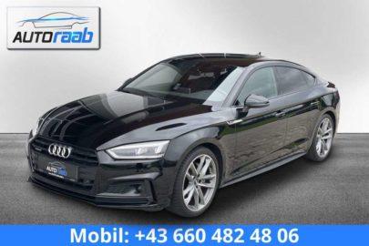 Audi A5 2.0 TDI quattro S-tronic *S-line*LED*VIRTUAL* bei Auto Raab, Johannes Raab, KFZ – und Reifenhandel in