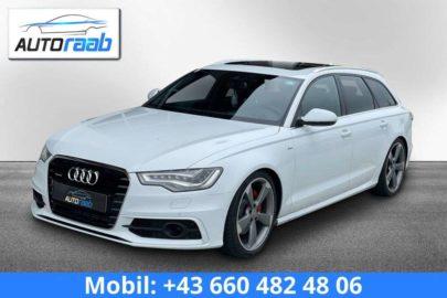 Audi A6 3.0 TDI Quattro S-tronic S-line *LED*AHV*PANO* bei Auto Raab, Johannes Raab, KFZ – und Reifenhandel in